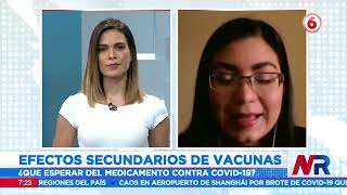 Efectos secundarios de vacunas: ¿Qué esperar del medicamento contra Covid-19