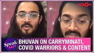 Bhuvan Bam aka @BB Ki Vines on chat with COVID warriors, YouTube vs TikTok, Carryminati | Exclusive - ZOOMDEKHO