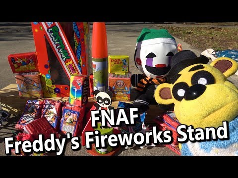 connectYoutube - FNAF Plush Episode 126 - Freddy's Fireworks Stand