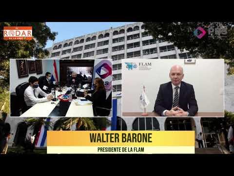 Entrevista- Walter Barone- Presidente de la flam