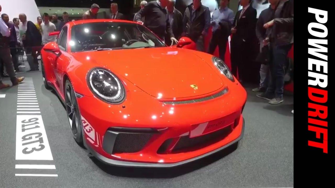 ಪೋರ್ಷೆ 911 ಜಿಟಿ3 : geneva motor show : powerdrift