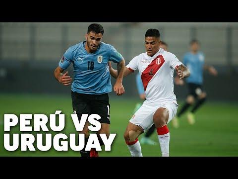 Eliminatorias Sudamericanas fecha 9   Perú 1 - Uruguay 1   Qatar 2022