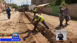 Ejecutan plan de inversiones en redes hidráulicas en Trinidad, Cuba