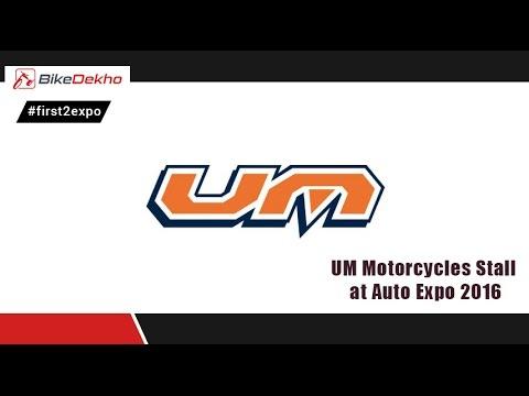UM Motorcycles @ Auto Expo 2016 | BikeDekho.com