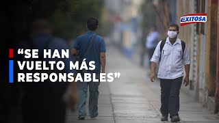 """????????Dr. Villena indicó que la población sí acató la cuarentena: """"Se han vuelto más responsables"""""""
