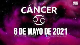 Horoscopo De Hoy Cáncer - 6 de Mayo de 2021
