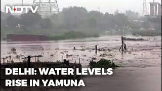 Water Levels In Yamuna Rise After Heavy Rains In Delhi's Catchment Areas - NDTV