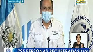 Ministro de Salud informa de 60 pacientes recuperados de Covid-19
