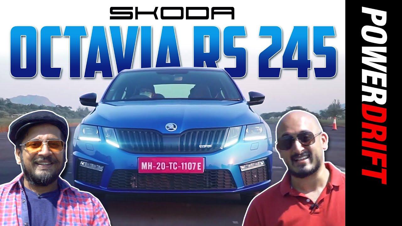 స్కోడా ఆక్టవియా ఆర్ఎస్ 245 | the last hurrah! | powerdrift