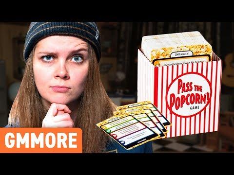 Playing Pass The Popcorn