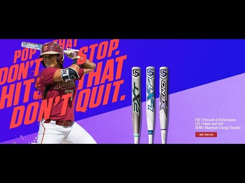 2018 Louisville Slugger Lineup | Up Your Game