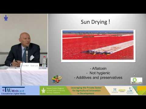 Speaker: Dr. Nusret Yurter, CEO Taze&Kuru Inc., Turkey