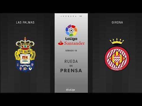 Rueda de prensa Las Palmas vs Girona