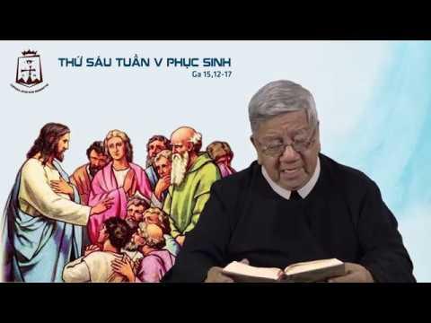 Suy niệm Lời Chúa Thứ Sáu Tuần V Phục Sinh (Ga 15,12-17) - Lm Giuse Nguyễn Tiến Lộc CSsR 24/05/2019