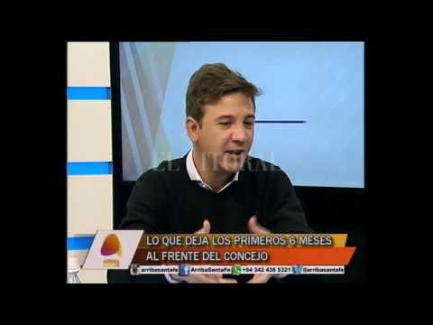 Sebastián Pignata - Arriba Santa Fe