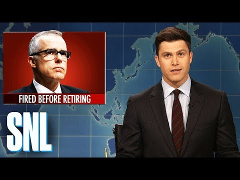 connectYoutube - Weekend Update on Andrew McCabe's Firing - SNL
