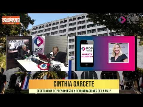 Entrevista- Cinthia Garcete - Encargada de la Secetratria de Presupuesto y Remuneraciones de la AMJP