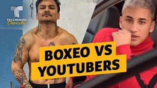 ¿Nueva convivencia entre el boxeo y los youtubers | Telemundo Deportes