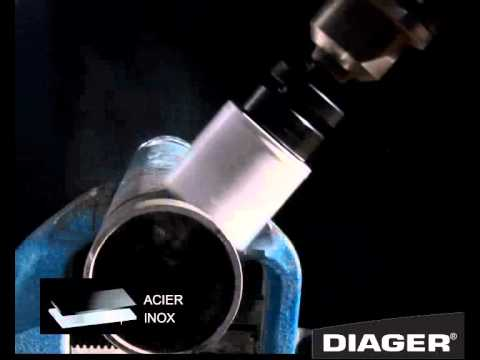 DIAGER SCIE CLOCHE BI METAL FR