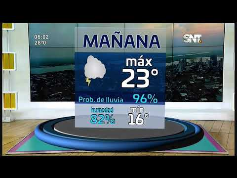 Pronóstico: Semana calurosa con probabilidades de lluvia
