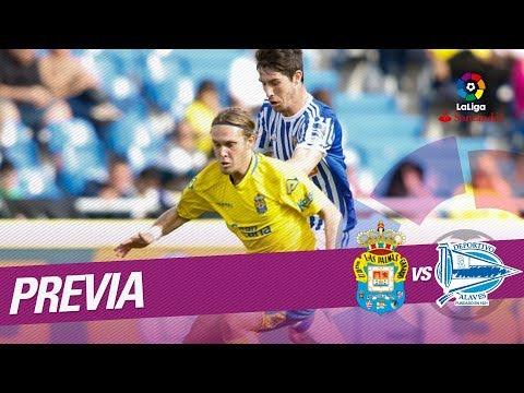 Previa UD Las Palmas vs Deportivo Alavés