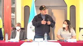 Presidente inaugura Centro de Atención para Personas con Discapacidad en San Jerónimo (21/01/2021)