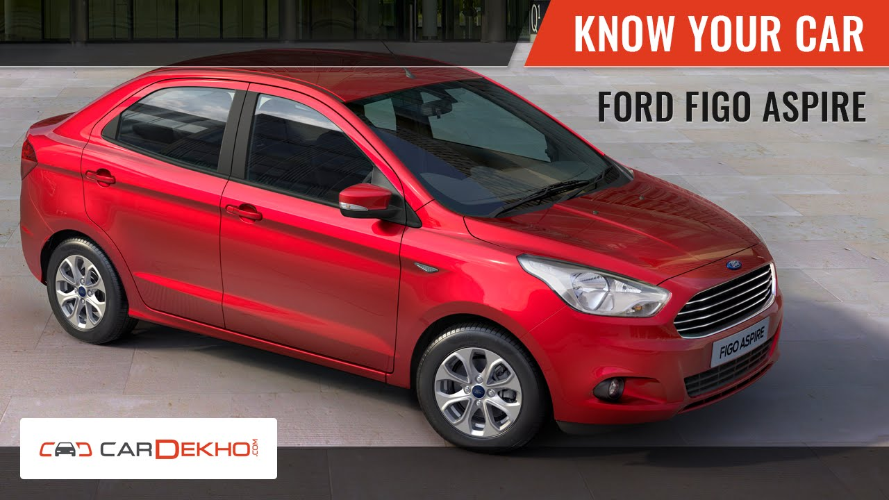 Know Your Ford Figo Aspire   Review of Features   CarDekho.com