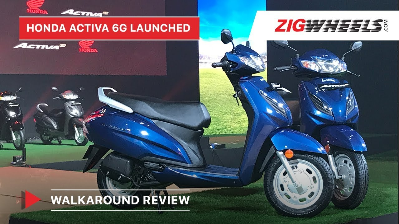 Honda Activa 6G Walkaround Review, BS6 Launch, Price, Features & More