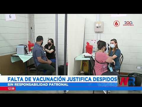 Falta de vacunación justificaría despidos sin responsabilidad patronal
