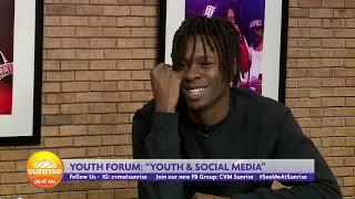 Creator Prince Pine Describes Social Media As Bad.. or Good | Sunrise| CVMTV