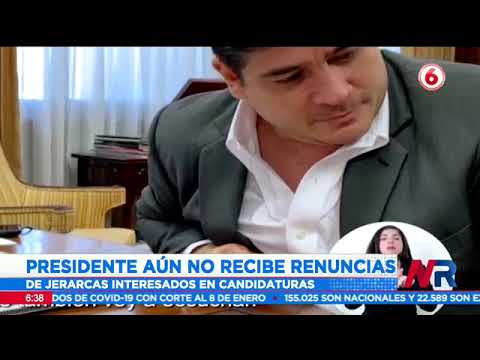 Presidente Alvarado aún no recibe renuncias de jerarcas interesados en una candidatura presidencial
