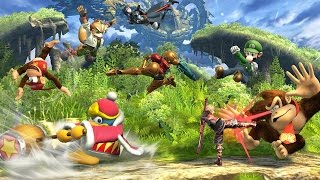 Smash Wii U: Let's Play 8-Player Smash With Amiibo
