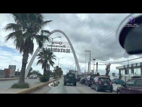 Grupo armado secuestra a 20 extranjeros en Matehuala.