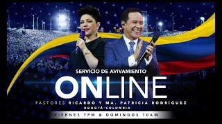 ?? Viernes de Avivamiento 22 de mayo 2020 | Pastores Ricardo y Ma. Patricia Rodríguez