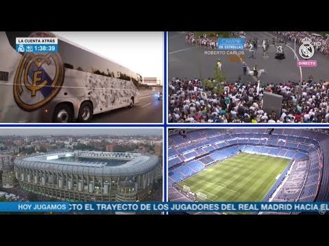 Follow our journey to the Bernabéu for the Spanish Super Cup 2nd leg!
