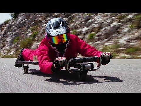 connectYoutube - Homemade Racer with NO BRAKES! 50 MPH!