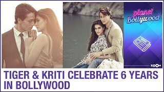 Tiger Shroff and Kriti Sanon complete 6 years in Bollywood industry since debut film Heropanti - ZOOMDEKHO