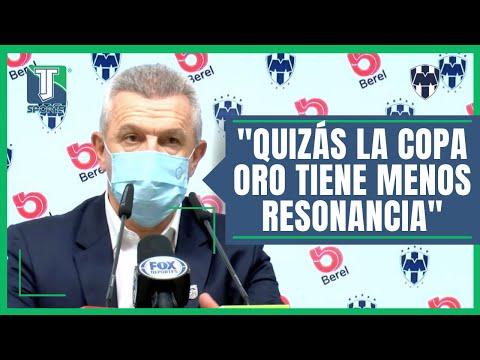 Javier Aguirre PREFIERE que la Selección Mexicana GANE la MEDALLA de Oro al BICAMPEONATO de Copa Oro