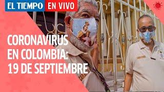 Coronavirus en Colombia: 19 de Septiembre