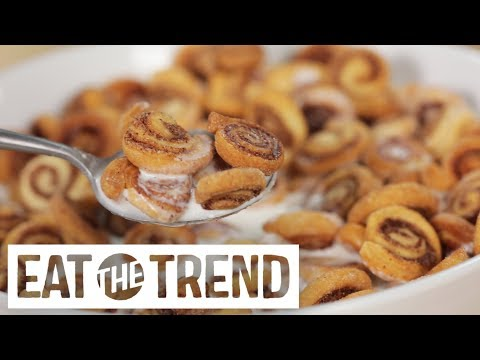 connectYoutube - Mini Cinnamon Roll Cereal | Eat the Trend