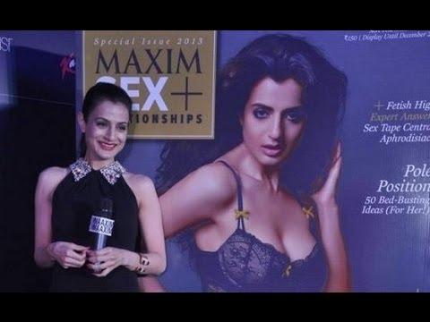 UNCENSORED:Ameesha Patel's Hot New Maxim Magazine Cover