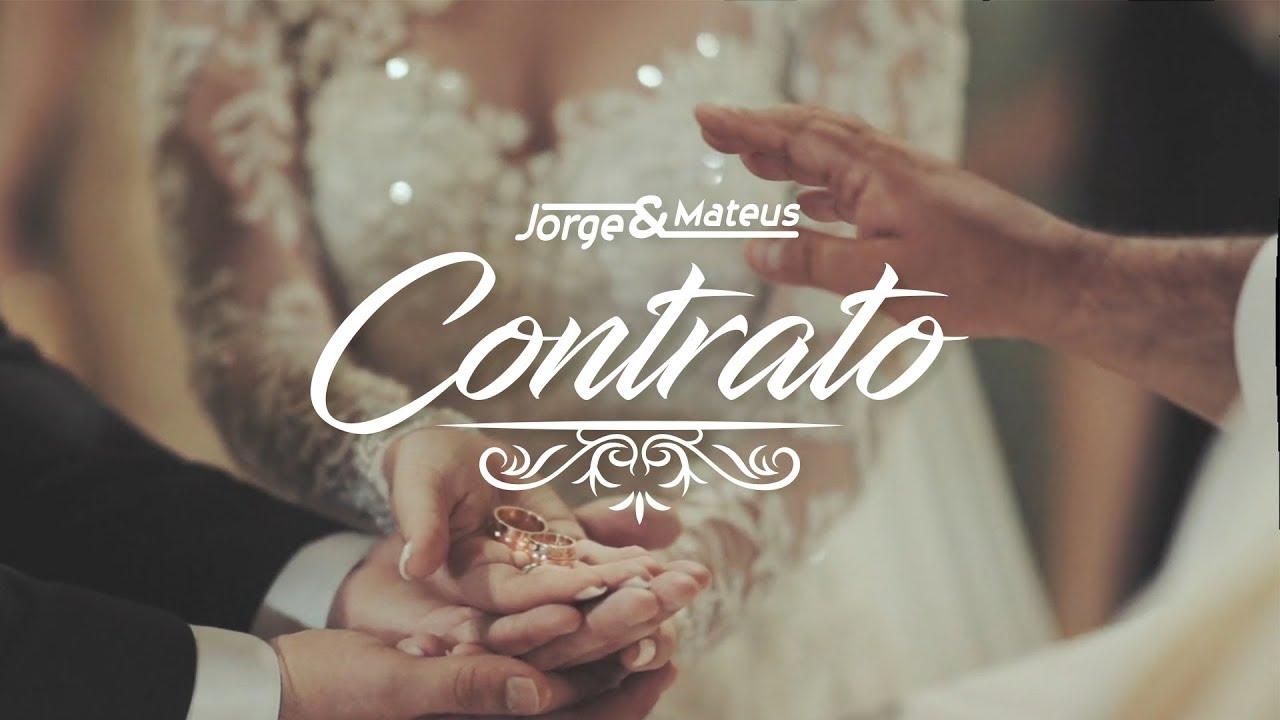Contrato - Jorge e Mateus