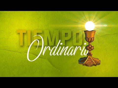 SANTA EUCARISTÍA // Vísperas del XVIII Domingo del Tiempo Ordinario.