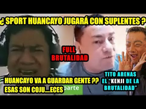 Silvio Valencia DISCUTE con TITO ARENAS EL KENJI DE LA BRUTALIDAD : HUANCAYO VA A GUARDAR GENTE