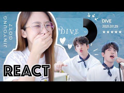 Reaction- -🌊-DIVE---Jinyoung-G