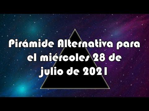 Lotería de Panamá - Pirámide Alternativa para el miércoles 28 de julio de 2021