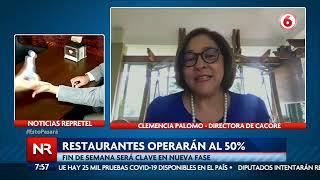 Restaurantes vuelven a operar los fines de semana al 50%