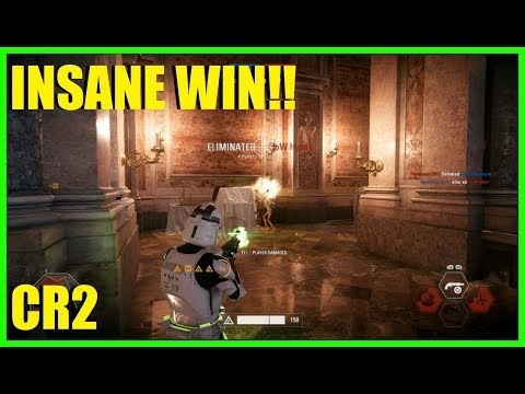 Star Wars Battlefront 2 - I can't believe we actually won this game! CR2 OWNAGE!