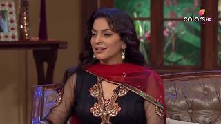 Comedy Nights with Kapil - Juhi Chawla gives love lessons - COLORSTV