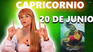 PREDICCIONES MHONI VIDENTE - Capricornio horóscopo de hoy 20 de Junio 2021 - Tienes que ser decisivo